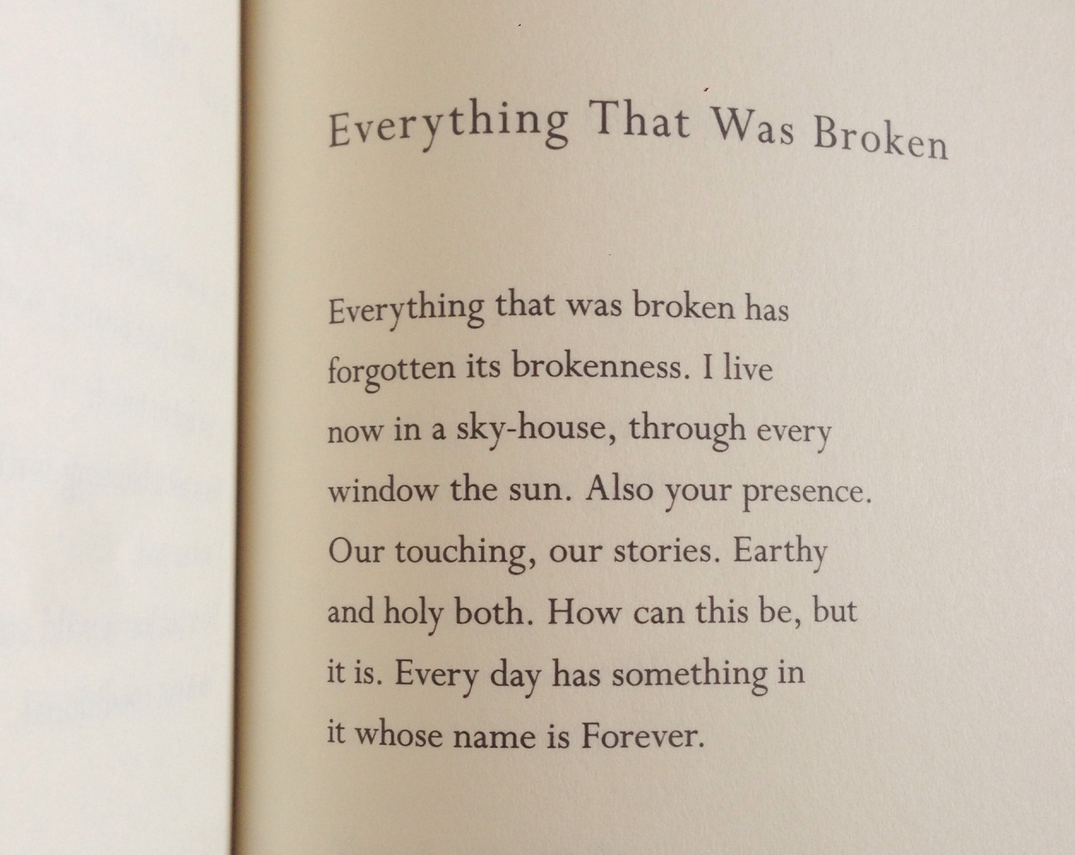 Everything that was broken