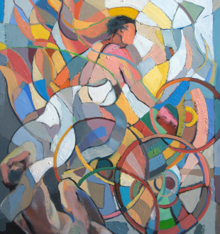 """Edward Knippers - oil on panel - 32"""" X 24"""" - 2010"""
